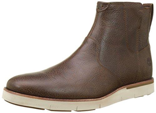 Timberland Herren Preston Hills Chelsea Boots Braun (terriccio Leggero)