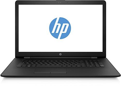 HP 17-bs001ng (17,3 Zoll / HD+ SVA) Laptop (Intel Celeron N3060 8 GB RAM 256 GB SSD Intel HD Grafik FreeDOS 2.0) schwarz