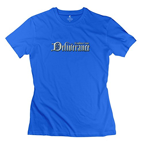 Kingdom Come: Deliverance Retro O-Neck RoyalBlue T Shirt For Adult Size XL