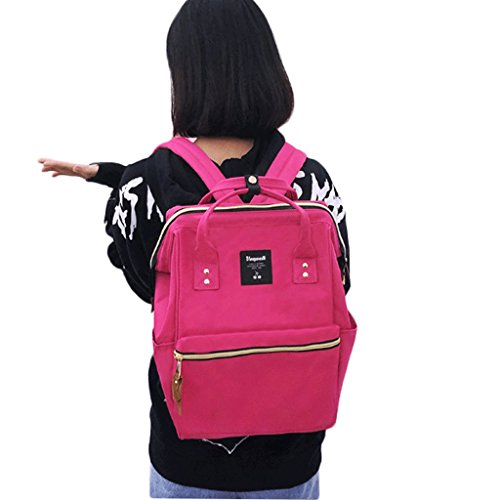 dos bandoulière Sac dos féminin Sac à Sac Rose à à Sweet Casual sac Couleur bandoulière Middle à féminin à dos GJ Sac Red School rose School Red College Wind belle q7dgEE
