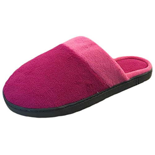 Trim Wildberry ISOTONER Microterry Clog Slipper Contrast Women's tYqZYvp