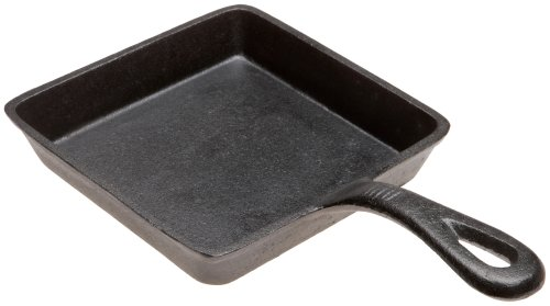 Old Mountain Pre Seasoned 10106 5 x 3/4 Inch Square Skillet