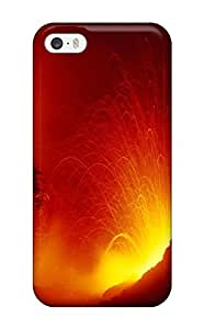 Tpu Case Cover Compatible For Iphone 5/5s/ Hot Case/ Volcanic Spews