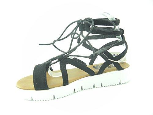 Refresh - Sandalias de vestir de Lona para mujer negro negro negro
