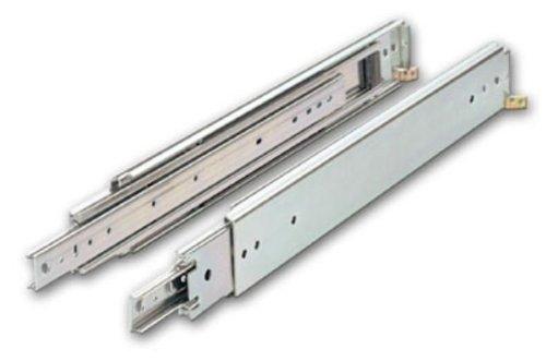 Knape & Vogt Kv8900 B40 40 In. Extra Heavy Duty 500 Lb. Full Extension Slide - Anochrome