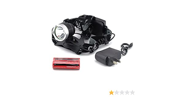 3800 Lum LED Bike Cycling Front Head Flashing Light Lamp Rechargeable Waterproof