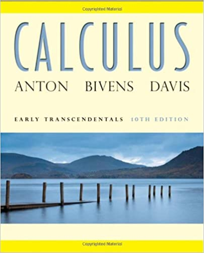 Calculus: Early Transcendentals, 10th Edition