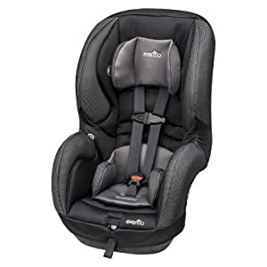 evenflo sureride dlx 65 convertible carseat steel color baby. Black Bedroom Furniture Sets. Home Design Ideas