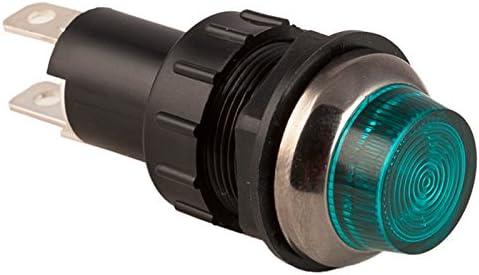 K4 Standard Green Indicator Light 3//4 Mounting Hole 17-431