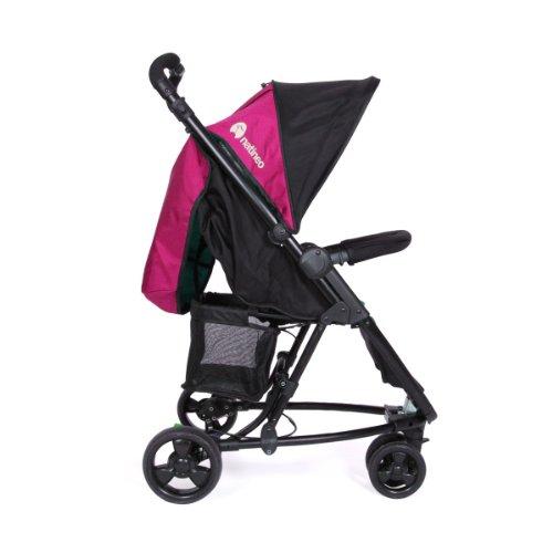 Natineo vibeo silla de paseo con 3 ruedas color rosa - Silla de paseo 3 ruedas ...