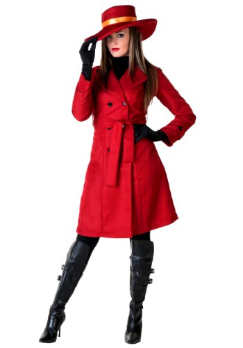 Carmen Sandiego Hat (Fun Costumes Womens World Traveler Costume Small (4-6))