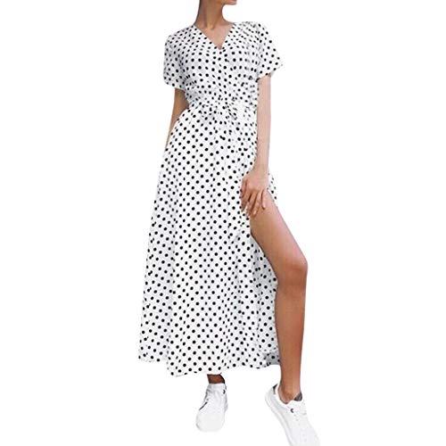 MILIMIEYIK Dress, Women Dress Summer Fashion Feminin Vestido Long T-Shirt Casual Boho Loose Shirt Dresses Sundress White