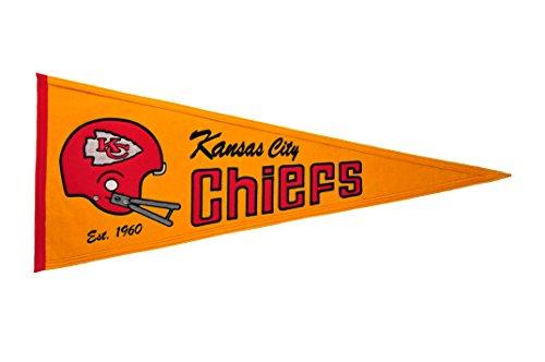 Winning Streak NFL Kansas City Chiefs Throwback Pennant (San Throwback Francisco Pennant 49ers)