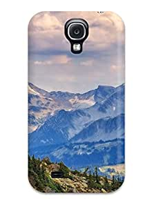 New Premium Case Cover For Galaxy S4/ Mountain Protective Case Cover 4683688K77650459