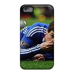 Shock Absorption Hard Cell-phone Cases For Apple Iphone 6s Plus With Support Your Personal Customized Colorful Chelsea Fc Fernando Torres Football Star Pattern Iphonecase88