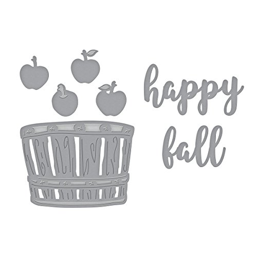 Spellbinders Die D-Lites Happy Fall Etched/Wafer Thin Dies ()
