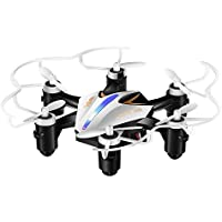 GBlife Mini RC RTF Hexacopter Drone 6-Axis Headless Mode One Key Return 4 Channel without Camera(BLACK)