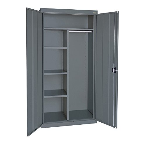 Sandusky Lee EACR362472-02 Elite Series Wardrobe Storage Cabinet, 36