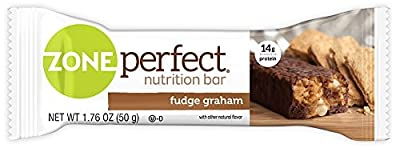 ZonePerfect Nutrition Snack Bars, High Protein Energy Bars, Chocolate Almond Raisin
