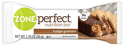 ZonePerfect Nutrition Snack Bars, Fudge Graham, 1.76 oz, (30 Count) (Snack Protein High Bar)