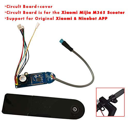 Circuit Board and Dashboard Cover Replacement for Xiaomi MIJIA M365 Electric Scooter