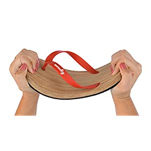 uoody Flip Flops For Women and Men, Flexible Flip Flop Sandals & Slippers, Cute Comfortable Casual Shoes (Red 6W)