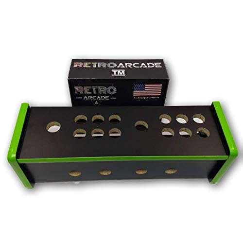 RetroArcade.us ra-Cabinet-ct-add-on Head to Head add on Cocktail Arcade Game Control Panel, Ready to Assemble add on kit, for ra-Cabinet-Cocktail