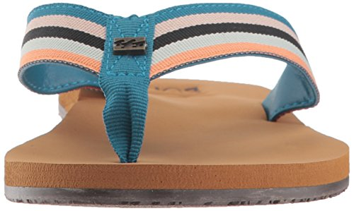 Multi Billabong Baja Sandal Flat Women Blue WSgSqBUn