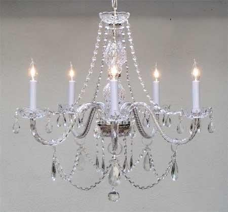 Chandelier Made with Swarovski Crystal Chandeliers Lighting 25X24 H25 X W24