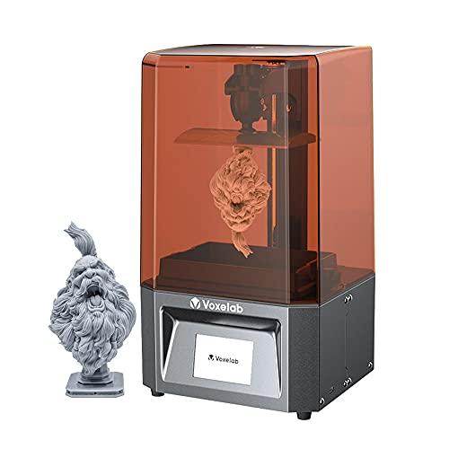 Voxelab Proxima 3D Printer 6.08in 2K Monochrome LCD 3D Printer UV Photocuring Resin 3D Printer,Full Grayscale Anti…