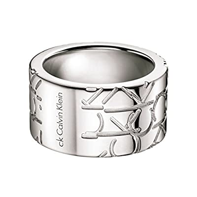 Calvin Klein Jewelry Logo Men's Ring KJ19BR010112