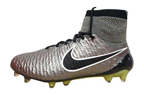 Nike , Herren Fußballschuhe 40 EU metallci pewter black white 011