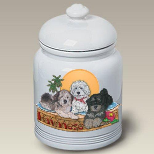 Havaneses – Pipsqueak Treat Jar