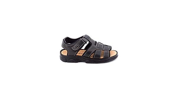 DLIRO 7013 Sandalia DE Piel Hombre Sandalias
