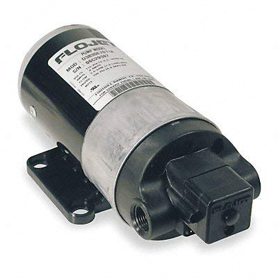 - 1/10 HP, 3/8 Inlet Size, 3/8 Outlet Size, Duplex II Demand Diaphragm pump, Diaphragm Spray Pump