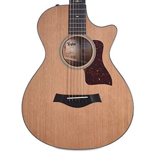 (Taylor 512ce 12-Fret Grand Concert Western Red Cedar/Tropical Mahogany Natural ES2 w/V-Class Bracing & Hardshell Case)