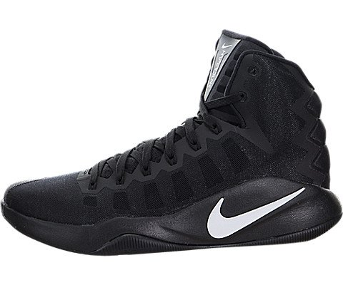 Nike Men's Hyperdunk 2016 Basketball Shoe (Black/White)