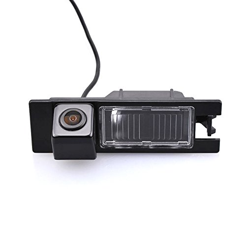 Navinio Car Backup Camera Waterproof Rear-View License Plate Rear Reverse Parking Camera for Opel Astra H Zafira BCorsa D Vectra C Tigra Meriva A Regal Grande Punto Antara (Backup Camera)