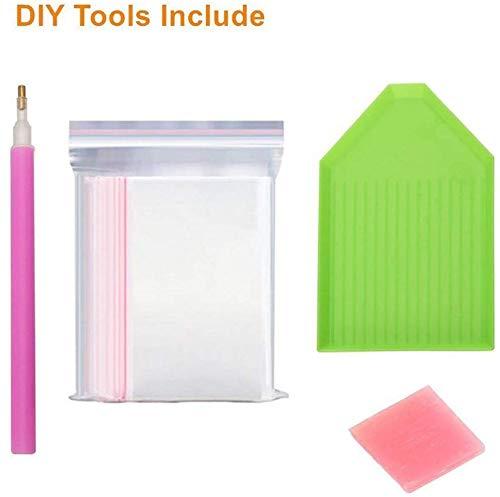 TWBB 5D DIY Diamond Painting Full Drill Diamond Painting Kits for Adults or Kids,HG577 Diamond Embroidery 12x16