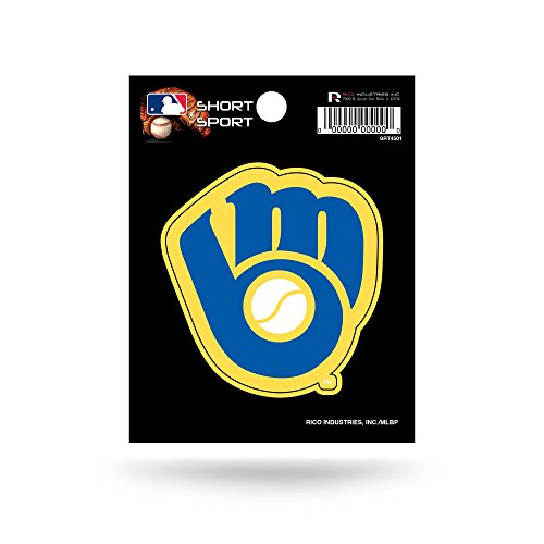 (MLB Milwaukee Brewers Short Sport Decal)