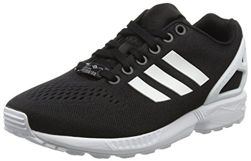 adidas Black White Em Top ZX Ftwr Black Erwachsene Core Flux Unisex Core Schwarz Low zIrPpUzn