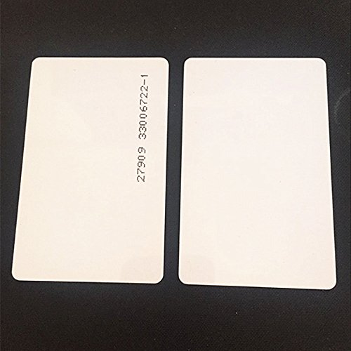 100pcs 26 Bit Proximity Cards Weigand Prox Blank Printable Swipe Cards Compatable with ISOProx 1386 1326 H10301 format readers. Works with the vast majority of access control systems