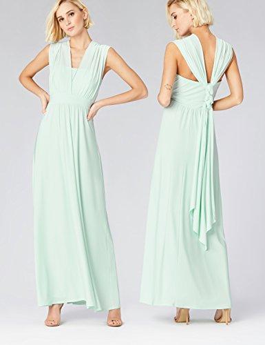 Celadon Multiway Green TRUTH amp; Lungo Vestito Donna FABLE Verde Tx0q7w4x
