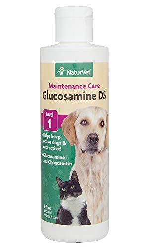 NaturVet Glucosamine-DS Liquid Joint Formula, 8-Ounce
