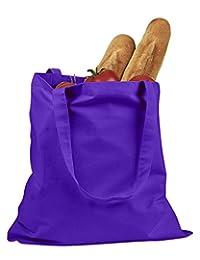 Bx 6 Oz Canvas Promo Tote Bag