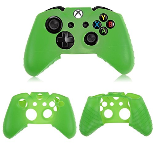 For Xbox One Wireless Controller,Sunfei Silicone Rubber Skin Case Gel Protective Cover ()