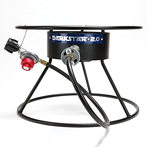 The Dark Star Propane Burner 2.0 for Home Brew Outdoor Beer Brewing - Deluxe Natural Gas Grill