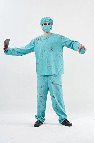 Bristol Novelty AC959 Blood Splattered Surgeon Costume, 42-44-Inch -