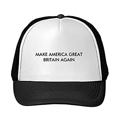 Corey Fantastic Baseball Cap Make America Great Britain Again Snapback Trucker Hat
