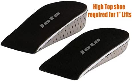 Kids-women Shoe Lifts and Height Insoles Inserting Shoes to Make Taller (1.0